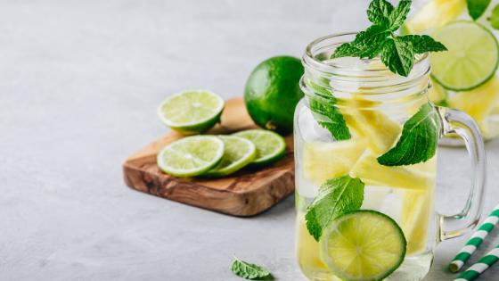 Fat Burning Detox Water Recipe For Flat Tummy