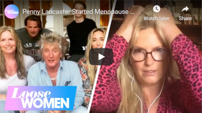penny lancaster weight loss